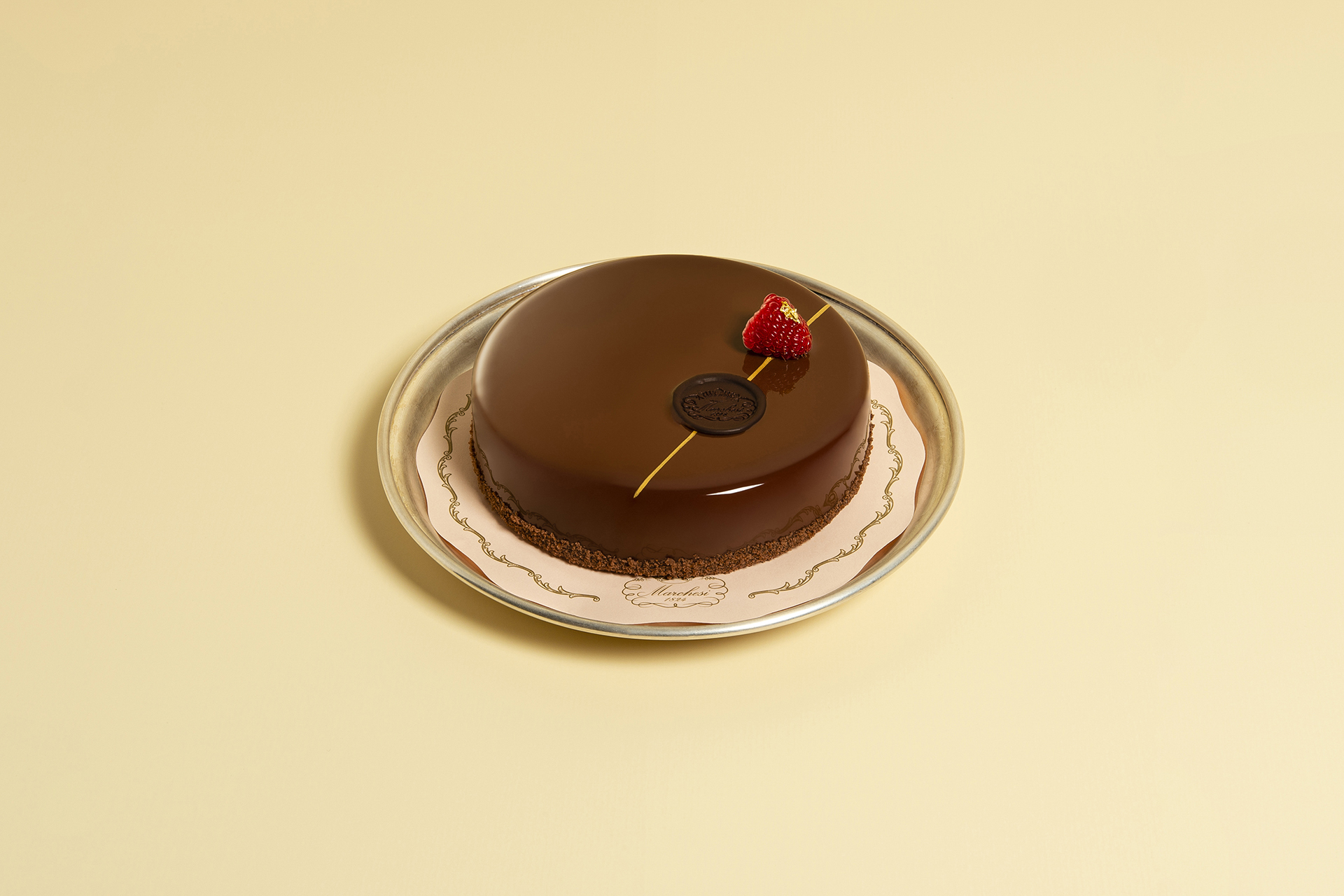 The chocolate cake with a rich and decidedly royal heritage